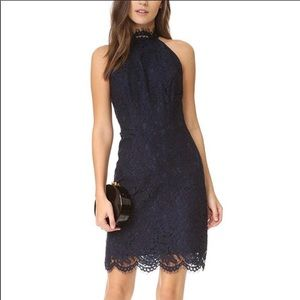 BB DAKOTA navy lace dress